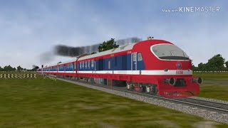 Repalle to Guntur Full Journey Compilation from Demu Passenger by Open Rails