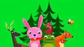 Мультики про животных для малышей - Лес Капу - Игры бесплатно 2016 - Мультфильм для детей