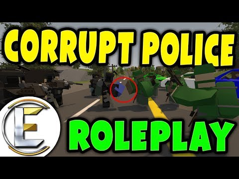Spying on corrupt police as a BAD deal goes down | Detective Roleplay - Unturned serious RP