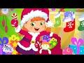 La Brujita Tatty y Lilly Decoran el Árbol de Navidad Dibujos Animados para Niños