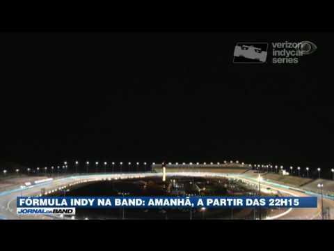 Neste sábado tem Fórmula Indy na tela da Band