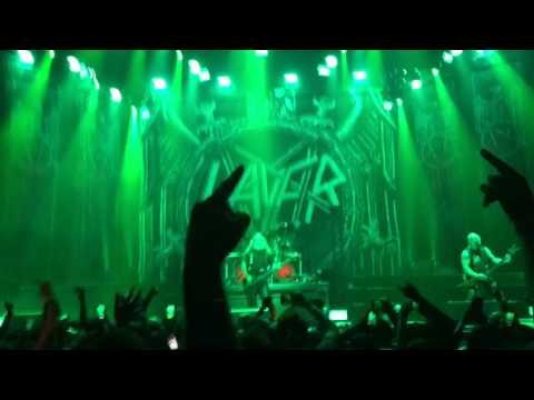 Slayer War Ensemble live at the Forum Inglewood Ca 2017