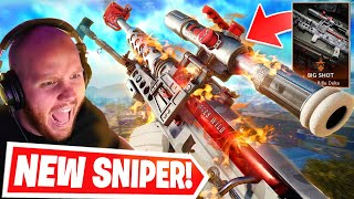 NEW ZRG 20mm SNIPER IN WARZONE!! IS IT GOOD?? Ft. Nickmercs, Cloakzy & SypherPK