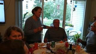 Мамин тост папе на день рождения