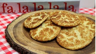 SNICKERDOODLE COOKIE RECIPE!   A REALLY RETRO HOLIDAY