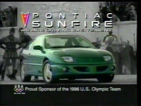 "Pontiac Sunfire 1996 TV ad - ""Chariot Race"" - YouTube"