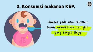 Patofisiologi Kekurangan Energi Protein (KEP).