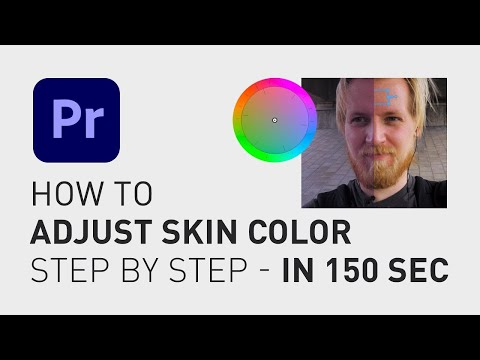 How to easy adjust skin color