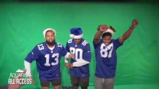 Behind-The-Scenes: Giants Holiday Card