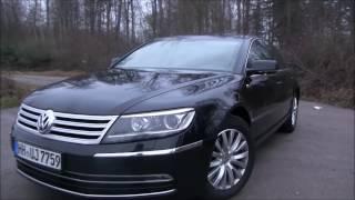 Test Drive- 2017 Volkswagen Phaeton 3. 0 V6