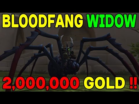 THE MAD MERCHANT: Bloodfang Widow Mount (2,000,000 GOLD) !!