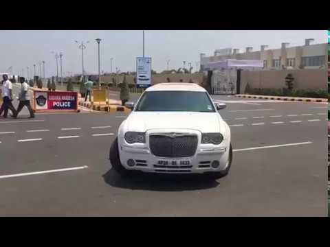Limousine Car Spotted in Amaravati AP Secretariat