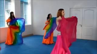 Видео урок 3 Работа с шалью Backstage