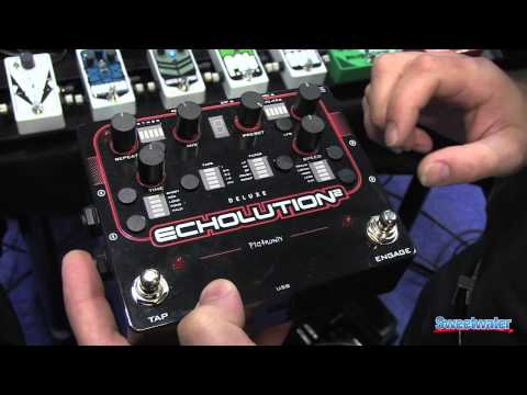 Pigtronix Echolution 2 and Echolution 2 Deluxe Demo - Sweetwater at Summer NAMM '13