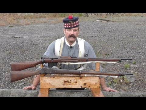 The Mk I Martini-Henry and the Mk I Lee-Metford:  Rate of Fire Comparison