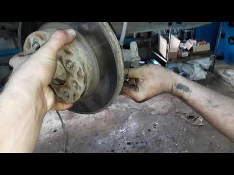 Хендай акцент замена тормозных дисков полезные советы