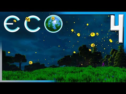 METEOR SHOWER AND STUB JOINS THE SERVER! | ECO Multiplayer Gameplay E4