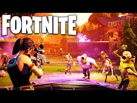 Saving The World From Zombies! Fortnite Save The World Gameplay (PS4 Pro)