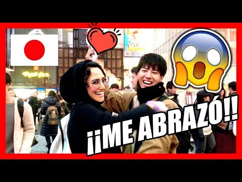 Me ABRAZO un chico JAPONES en OSAKA!!!