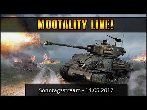 WoT / WoWs Stream vom Sonntag - 14.05.2017  [ deutsch 🐄 gameplay ]