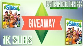-- GIVEAWAY 1K SUBSCRIBERS -- The Sims 4 Limited Edition CD