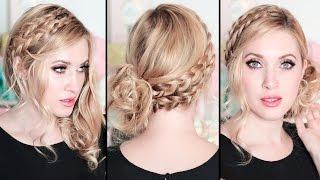 Свадебные/вечерние причёски на вечеринку 2016 самой себе, для средних/длинных волос(Мои мягкие гибкие бигуди Jumbo Curlers http://www.JumboCurlers.com. В этом видео уроке я вам покажу шаг за шагом, как самой..., 2015-12-26T09:46:39.000Z)