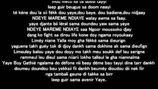 Canabasse - Yaye (Lyrics)
