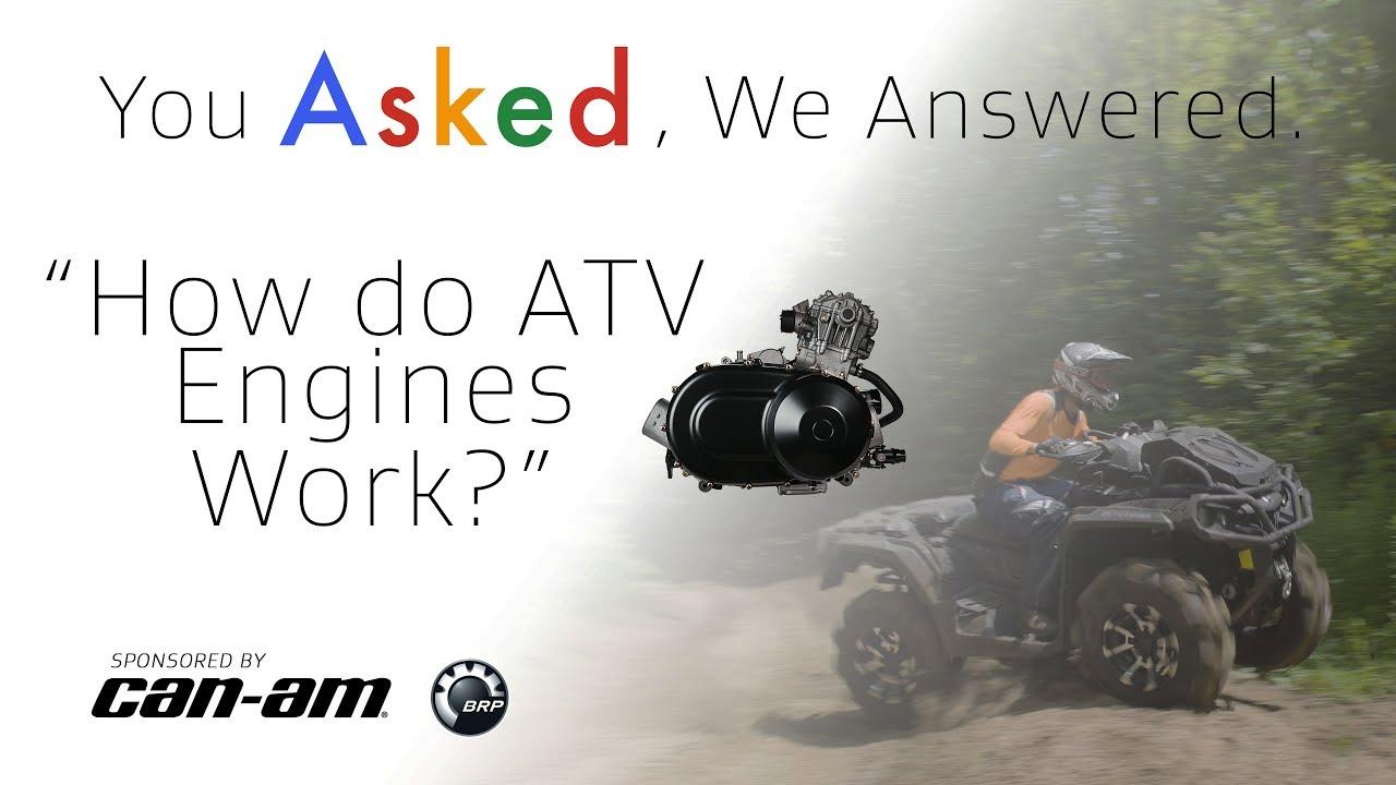 How do ATV Engines Work? - Dauer: 2 Minuten, 28 Sekunden