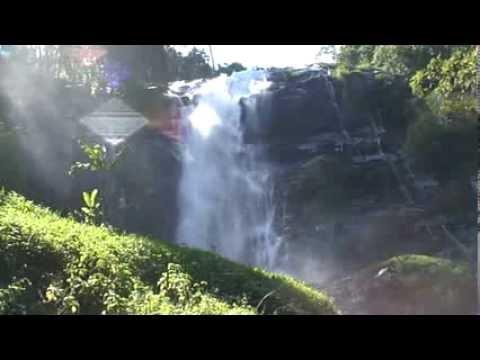 Релакс. Шум водопада. Завораживающий вид. Без музыки, родной звук...