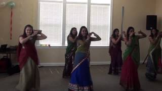 Radha Teri Chunari Dance at Jigna And Hely