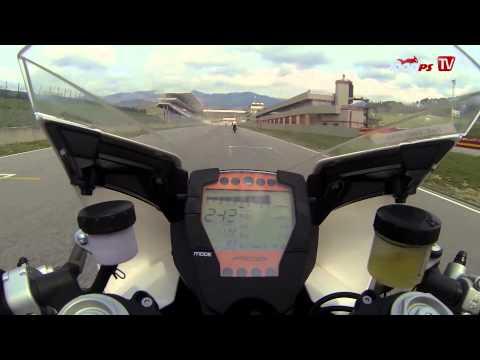 TOP Speed | 301 Km/h in Mugello mit KTM RC8-R