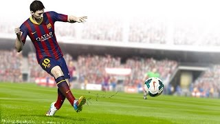 Fifa Soccer 15 Nintendo Wii - Game Capture HD II Gameplay