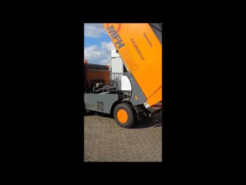 City Sweeper Aebi MFH 5000, direct ex city council, Year 2004, only 2015 sweeping hours  Sold with W