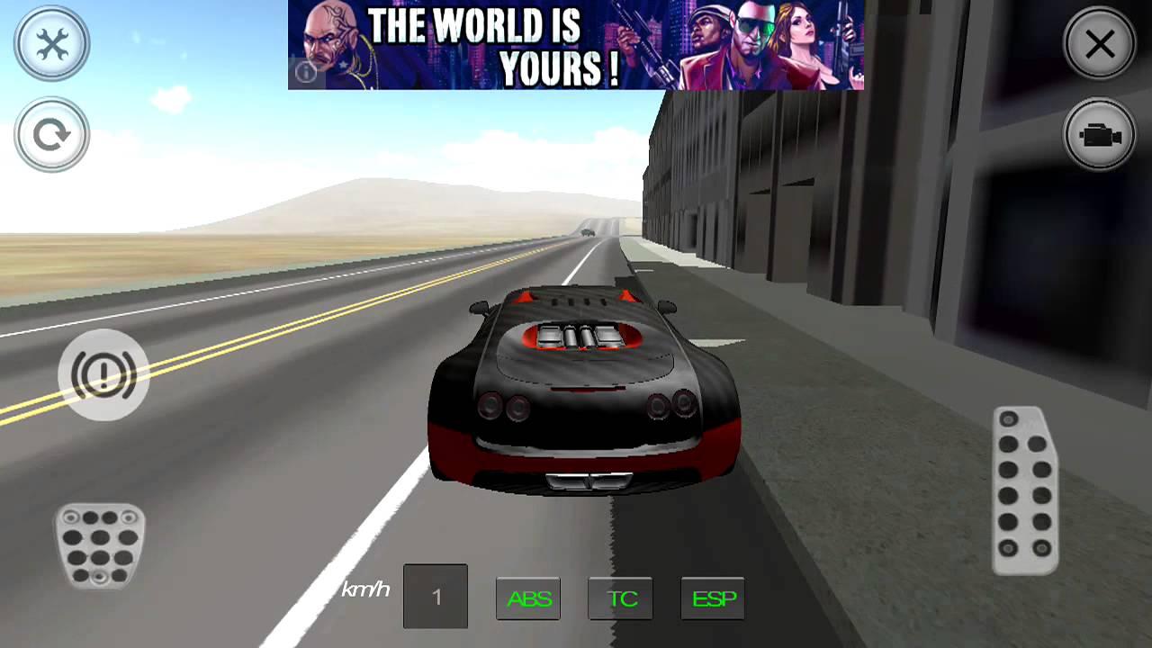 Great Super Sport Car Simulator Android Gameplay