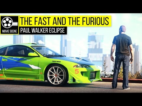 Grand Theft Auto 5 - The Fast And The Furious Paul Walker Eclipse