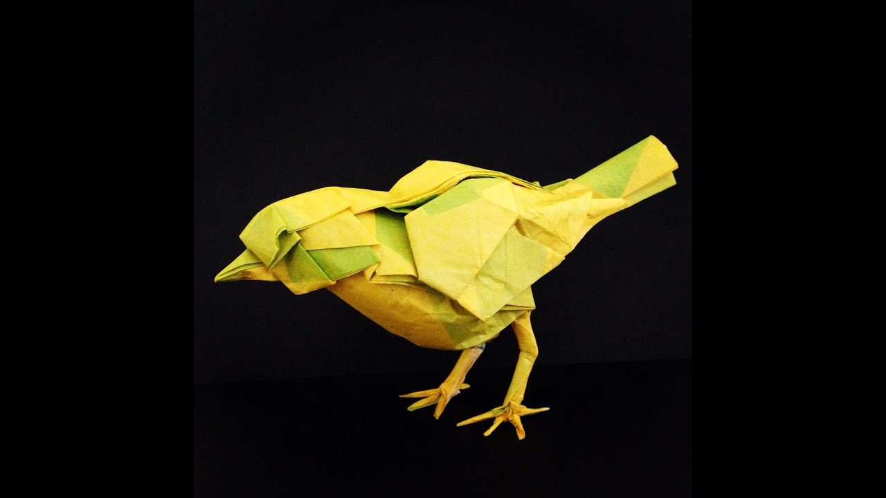 30 Best Origami Bird - Most Complex Origami Ever - YouTube - photo#2