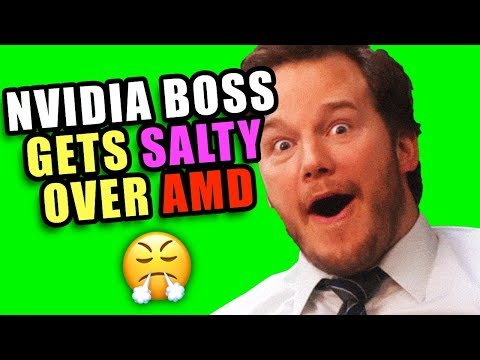 NVIDIA Gets SALTY About AMD's new GPU!