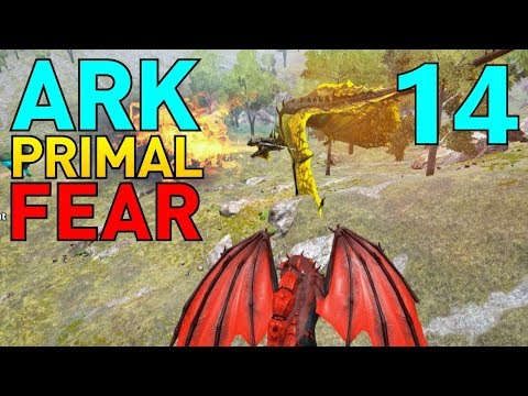 [14] Origin Spino and Origin Wyvern!!! (Let's Play ARK Primal Fear Multiplayer)