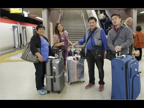 Japan Rail Pass Narita Express Trip to Hotel