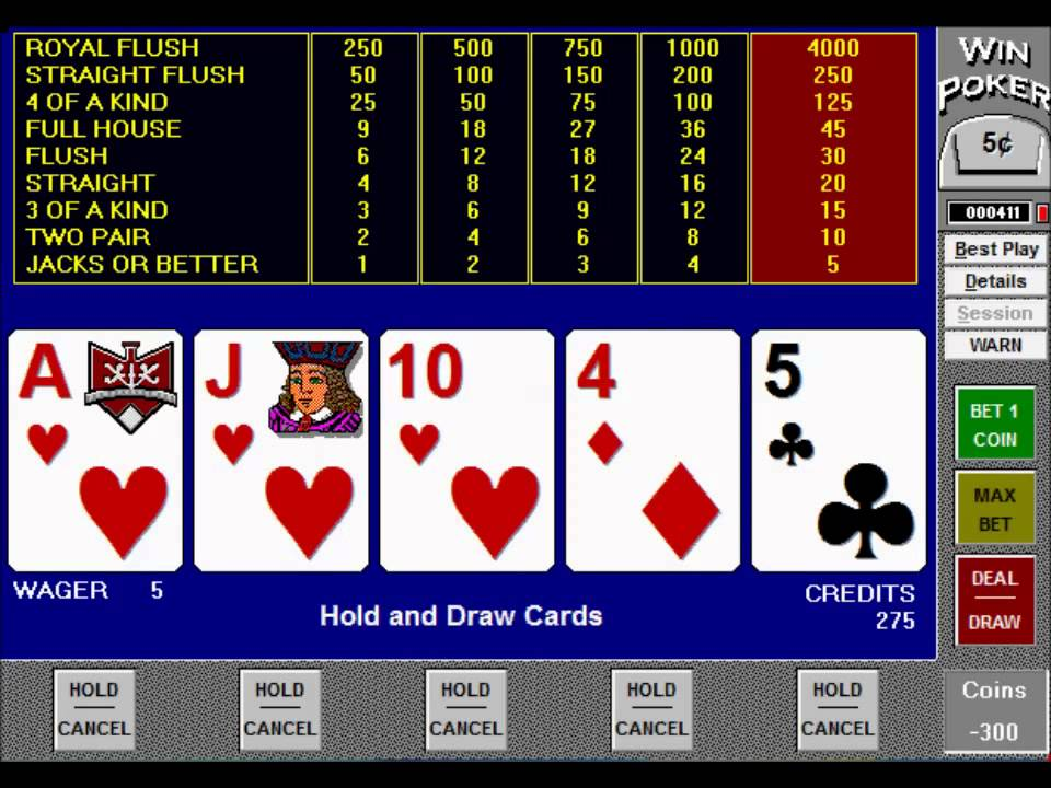 Video Poker Software