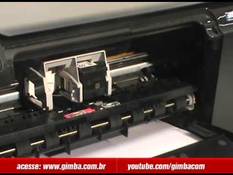 Como colocar cartucho na impressora - Gimbam