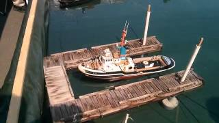 Rc Tugboats 2015 Wooden Boat Festival Maple Bay Vancouver Island