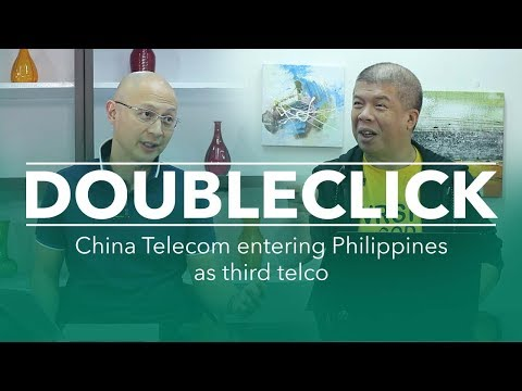 DoubleClick:  China Telecom entering Philippines as third telco (Jerry Liao w/Wowie Wong)