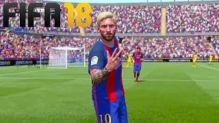 LIONEL MESSI CELEBRATIONS FROM FIFA 11 TO FIFA 18
