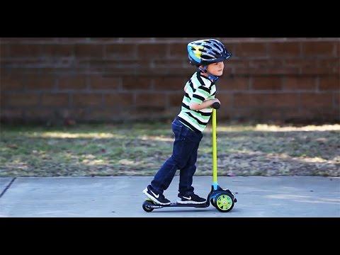 Razor Jr. t3 Scooter Ride Video