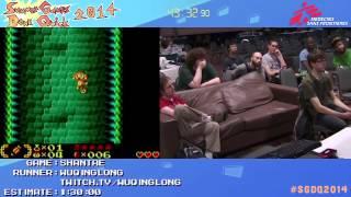 Summer Games Done Quick 2014 - Part 111 - Shantae