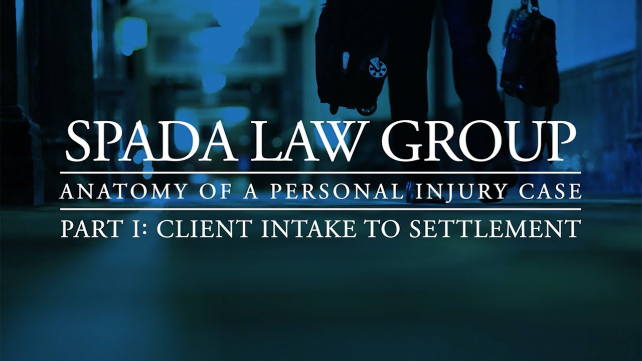 Spada Law Group Vlog Anatomy Of A Case Part I Youtube