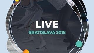 LIVE 🔴 | Ice Dance Free Dance | Bratislava 2018