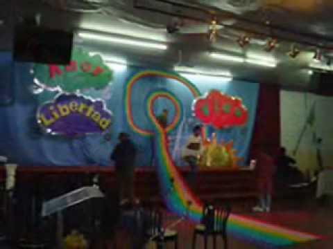 Culto de ni os backstage escenogr fico youtube for Decoracion casa con ninos