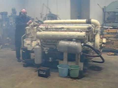 Zvezda M50 F6-L diesel start